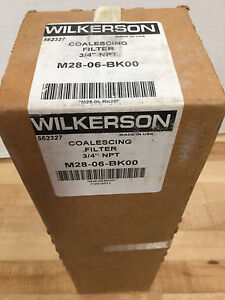 Wilkerson M28 06 bk00 Coalescing Filter 3 4 Npt new