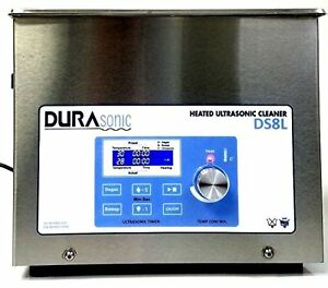 New Durasonic 8 Liter 2 1 Gallon Digital Ultrasonic Cleaner With Basket