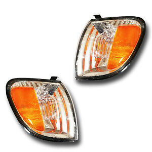 Fits 00 04 Toyota Tundra Driver Passenger Signal Light Lamp Assembly 1 Pair