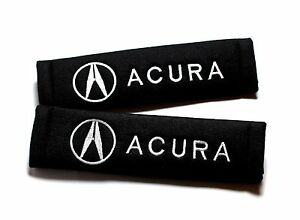 Seat Belt Cover Pad For Acura Integra Csx Rsx Nsx Tsx Tl Ilx Mdx Rdx