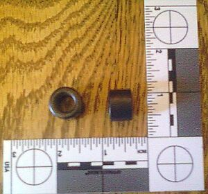Lot 10 ferrite Toroid Cores 17 526 Mm Od choke Inductor used free Shipping