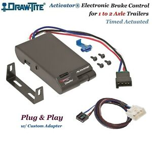 Activator Trailer Brake Control W Adapter For 2015 2017 Tundra 2016 2017 Tacoma
