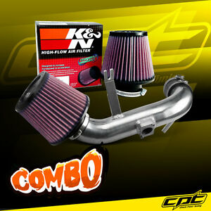 09 15 Lancer 2 4l 4cyl Automatic Polish Cold Air Intake K N Air Filter