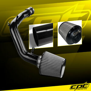 For 01 06 Vw Golf Gti 1 8t 1 8l 4cyl Black Cold Air Intake Stainless Filter