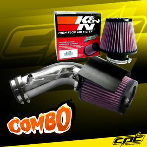 09 18 Maxima 3 5l V6 Polish Cold Air Intake K N Air Filter