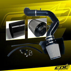 For 04 08 Ford F150 5 4l V8 Black Cold Air Intake Stainless Steel Air Filter