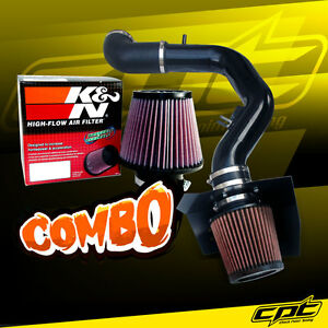 04 08 Ford F150 5 4l V8 Black Cold Air Intake K N Air Filter