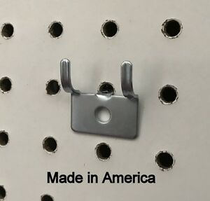 20 Pack Picture Clock Notch Utility j Peg Hook For 1 8 To 1 4 Pegboard