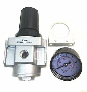 1 2 Air Compressor Regulator With Free 300 Psi Pressure Gauge