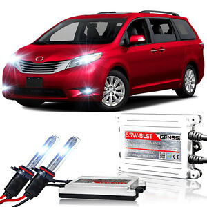 Genssi Hid Xenon Conversion Kit Bulbs For Toyota Sienna 2011 2016