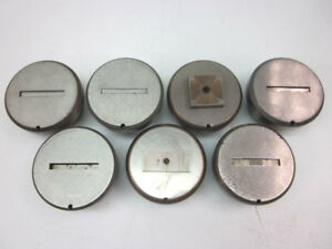 Lot Of 7 Rectangle square Punch Die Set Mate 2 750 3 50 Punch Press
