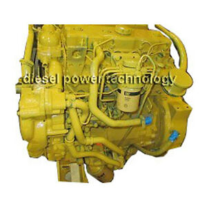 Caterpillar 3054 Remanufactured Diesel Engine Extended Long Block