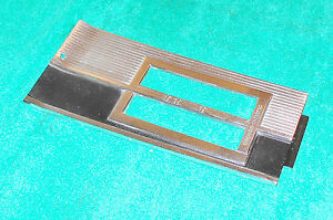 1965 1966 Mustang Fastback Cp Convertible Orig A t A c Console Shift Plate Bezel