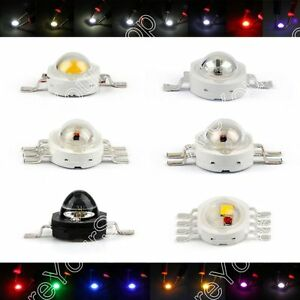 3w Led Rgb Infra Beads Lamp Diodes High Power Chip Light Multi color Us