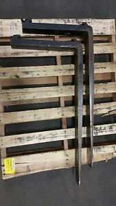 4 X 42 X 1 25 Class 2 Forklift Forks Lever Style