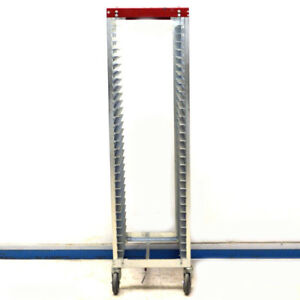 Bliss Industries Esd Safe Mobile 30 Tray Cart rack 18 3 4 X 20 1 8 X 65 3 4