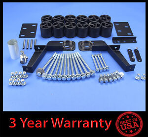 95 99 Chevy Gmc Tahoe yukon suburban 2wd 4wd 3 Full Body Lift Kit Front