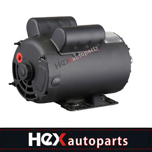 New Electric Motor 3450 Rpm Air Compressor 60 Hz 208 230 Volts B385 5 Hp Spl