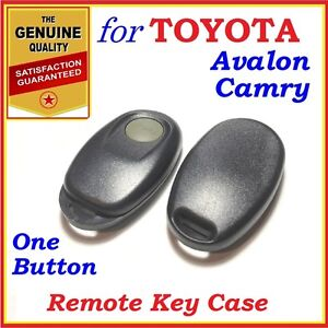 Fit Toyota Camry Avalon Remote Case Shell One Button Year 2000 2004