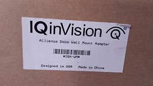 Iqinvision Iqa wm Iqeye Alliance Wall Mount Adapter ctno