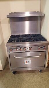 36 Commercial Gas Range Cgs S36 n