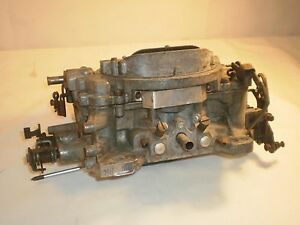 Edelbrock 1407 Carburetor 750 Cfm Being Sold For Parts Or Rebuilding