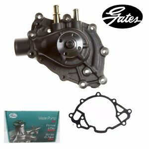Gates Engine Water Pump For Ford Mustang V8 4 7l Exc Hi Perf 1966 1968