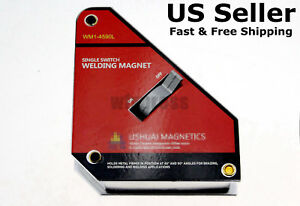 143lbs 65kg 45 90 Magnetic Holder welding Square Wm1 4590l With On off Switch
