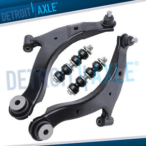 4pc Front Lower Control Arm Sway Bar Links 00 10 Chrysler Pt Cruiser Dodge Neon
