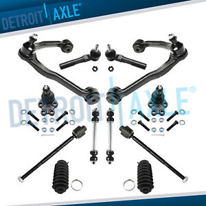 12pc Front Upper Control Arm Kit 1999 2007 Chevy Silverado Gmc 1500 2wd 6 Lug