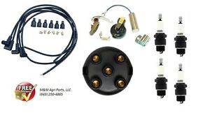 Ignition Tune Up Kit Ih Farmall 100 130 140 200 230 240 300 330 340 350 400 444