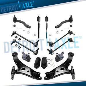 Brand New 14pc Complete Front Rear Suspension Kit For Toyota Lexus Vehicles