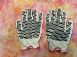 Lot Medium Kevlar Pvc dot Cut Resistant Work Gloves Honeywell Safety Crtd17lr