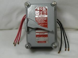 Hubbell Killark Fxsx03 30a 3p Cover Switch Assembly Never Used