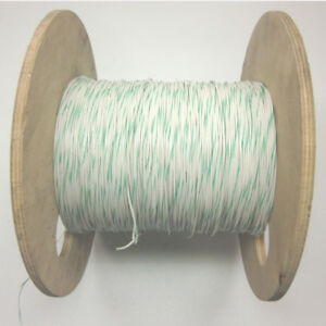 560 Ft Rc1c18awgwt gn 18awg Hook Up Wire White W Green Stripe