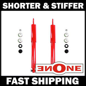 Mk1 Performance Stiff Shorter Rear Shocks For Lowered 05 10 Mustang V6 Gt Gs198