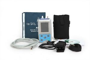 Ambulatory Blood Pressure Monitor 24h Abpm Holter Adult Leg infant 3 Cuffs