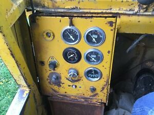 Michigan 75 cm Wheel Loader Instrument Panel W key 5 Gauges And Switch