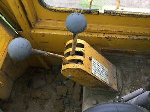 Michigan 75 cm Wheel Loader Loader Control Shift Tower W 2 Sticks