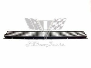 1958 Chevy Impala Cowl Vent Grille Panel Cover Oem 58 Belair