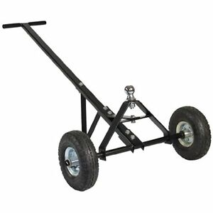 Boat Jet Ski Moving 600 Pound Trailer Weight Black Heavy Duty Steel Construction