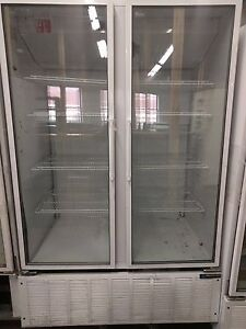 Used Master Bilt Bmg48 2 Door Cooler Refrigerator Excellent Condition