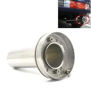 4 Universal Insert Removable Stainless Steel Exhaust Silencer Muffler Killer