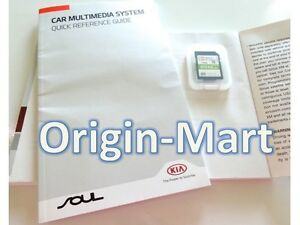 Latest Oem 2015 2016 Kia Soul Navigation Sd Card Map Us Only Part 96554 b2354