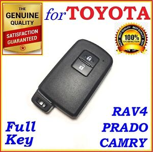 For Toyota Smart Key Rav4 Corolla Camry Prado 2 Buttons Oem Board