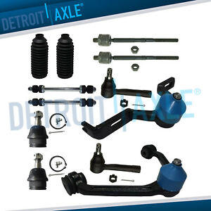 New 12pc Front Upper Lower Suspension Kit For Ford Sport Trac 2 Piece Design