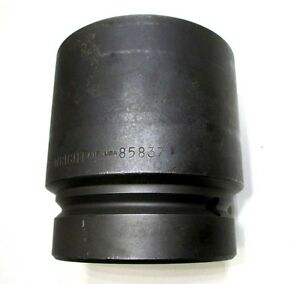 Wright Tool 85837 4 5 8 Impact Socket 2 1 2 Drive 6 Point 4 5 8 Excellent Usa