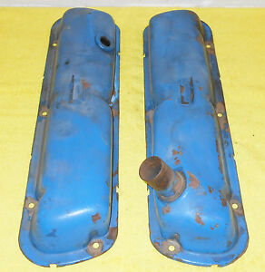 1965 1966 Ford Mustang Gt Falcon Fairlane Comet Cyclone Orig 289 V8 Valve Covers
