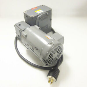 Boston Dutfb66205 Electric Motor W Boston F726600b5g Reducer