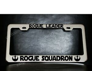 Star Wars Rebellion Rogue Leader Rogue Squadron License Plate Frame